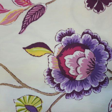 2695 Dekor Blume violett