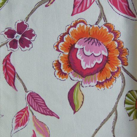 2695 Dekor Blume orange
