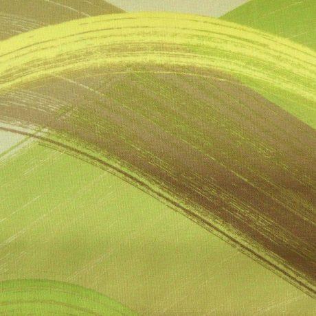 2705 Dekor Welle grün-gelb