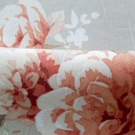 2884 Dekor Blume orange