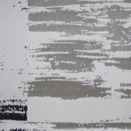 3389 Dekor Querstreif grau-schwarz
