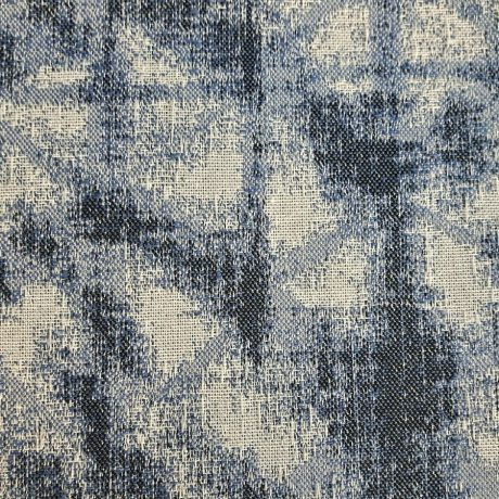 3394 Dekor *Jeansoptik* blau
