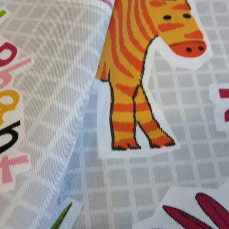 3504 Dekor *Zoo* rosa
