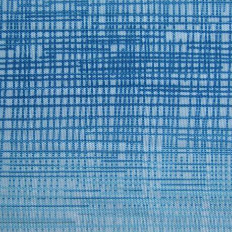 3624 Dekor bedruckt/gemustert blau