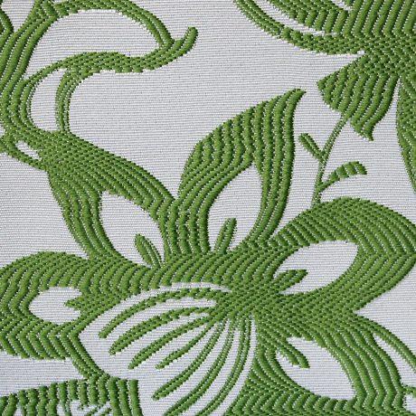 2654 Dekor Blume grün