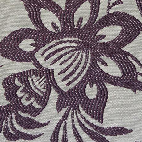 2654 Dekor Blume brombeer