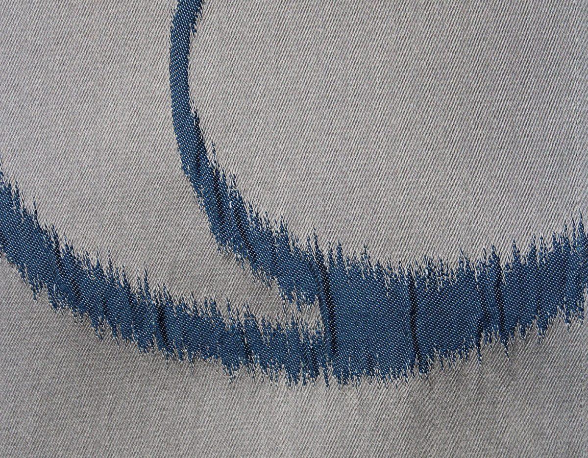 3521 Dekor Kringel blau-grau