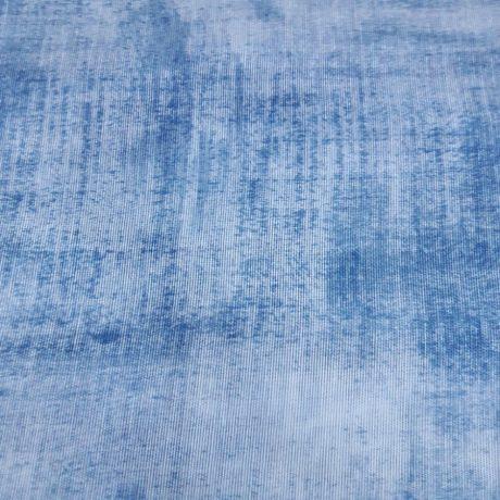 1097 Gardine schattiert blau