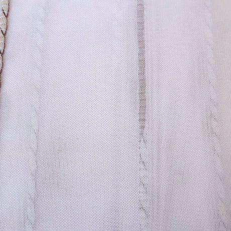 968 Gardine streif rot-weiß