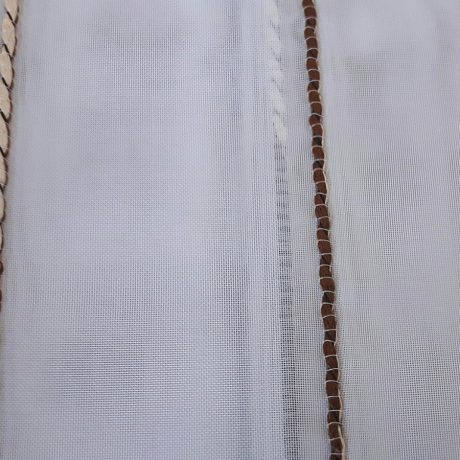 968 Gardine streif braun