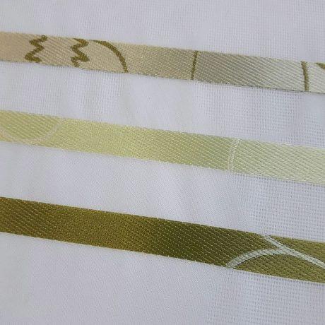 1781 Gardine streif grün