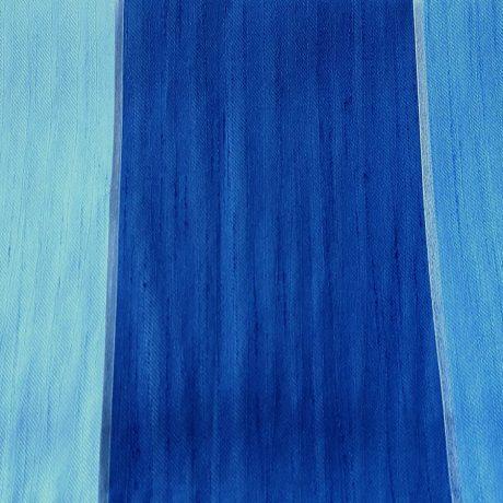 2543 Dekor querstreif blau