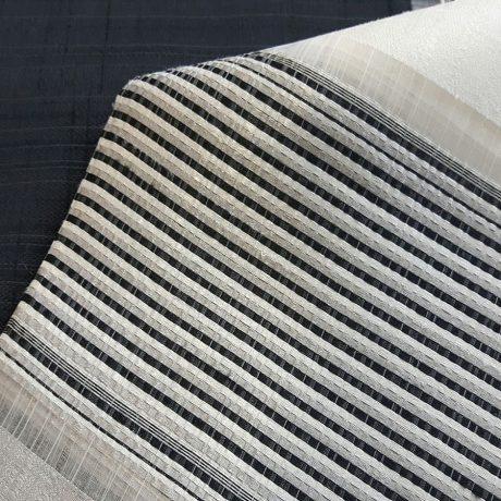 2659 Dekor querstreif schwarz-weiß