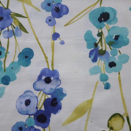 3143 Dekor Blume blau