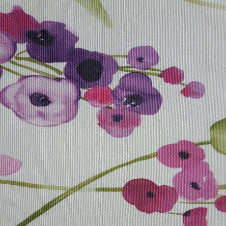 3143 Dekor Blume lila