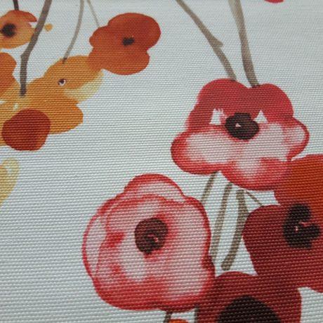 3143 Dekor Blume orange