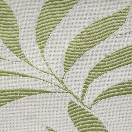 3291 Dekor Blätterranke grün