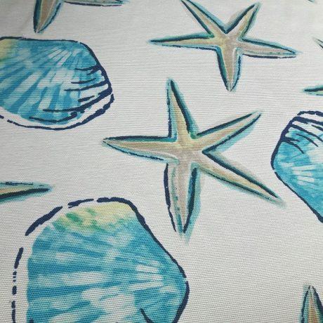 2992 Dekor Seestern blau