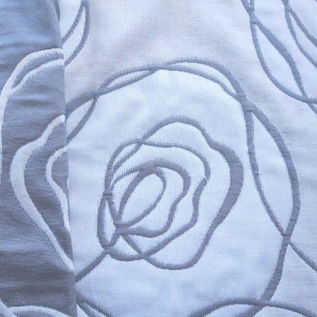 3322 Rose allover grau