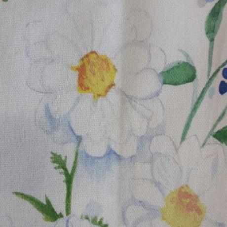 3623 Dekor Alpenblume blau