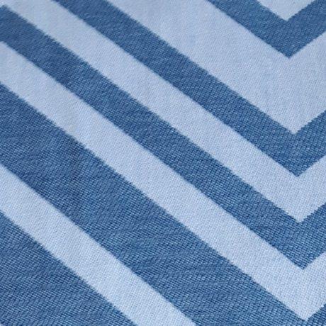 3738 Dekor Zick-Zack blau