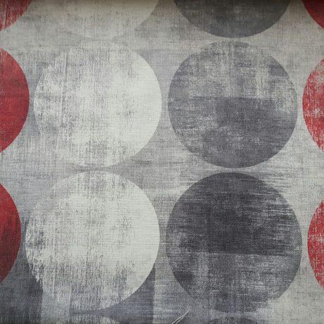 3781 Dekor Kreise rot