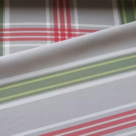 3782 Dekor karo/streif rot-grün