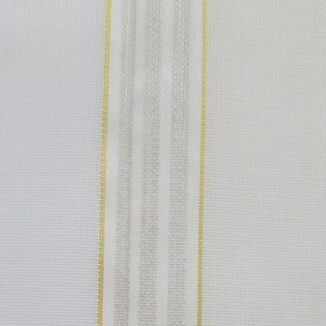 1855 Gardine streif gelb