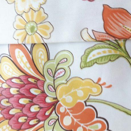 3145 Dekor Blume orange