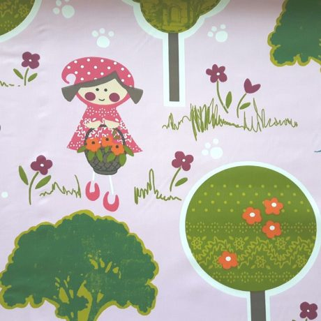 3191 Dekor *Rotkäppchen* rosa
