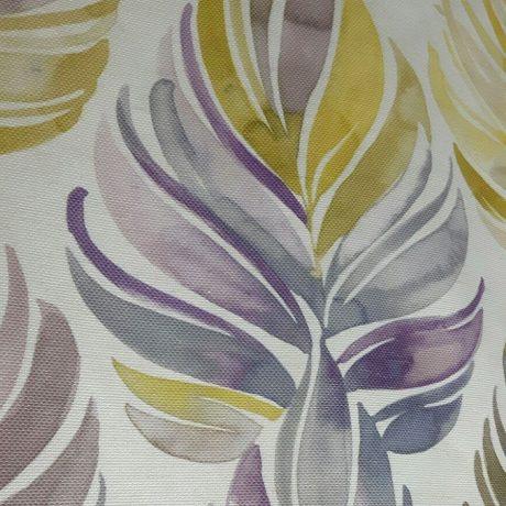 3650 Dekor Blüte violett-grün