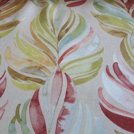 3650 Dekor Blüte rot-grün