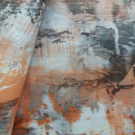 3737 Dekor Velour orange