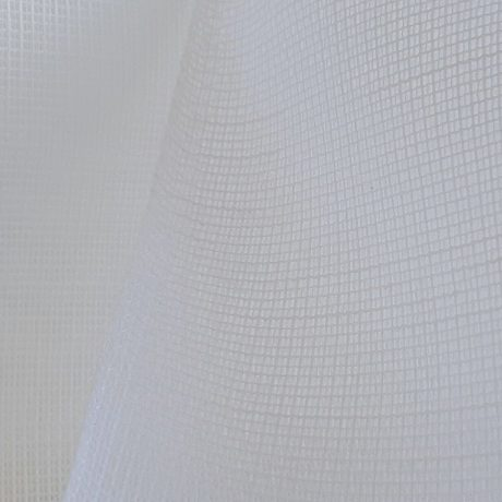 784 Gardine weiß & natur