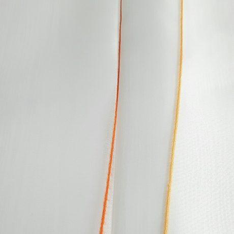 1034 Gardine Längswelle orange