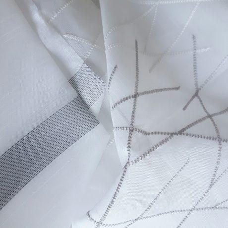 1053 Gardine weiß-hellgrau