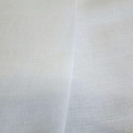 1160 Leinengardine weiß