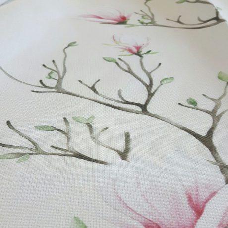 3875 Dekor Magnolie rosa