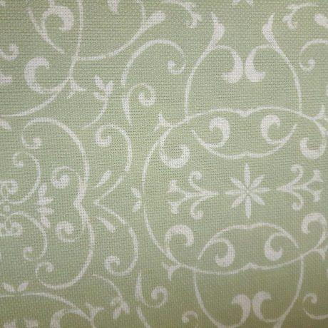 3890 Dekor Ornament grün