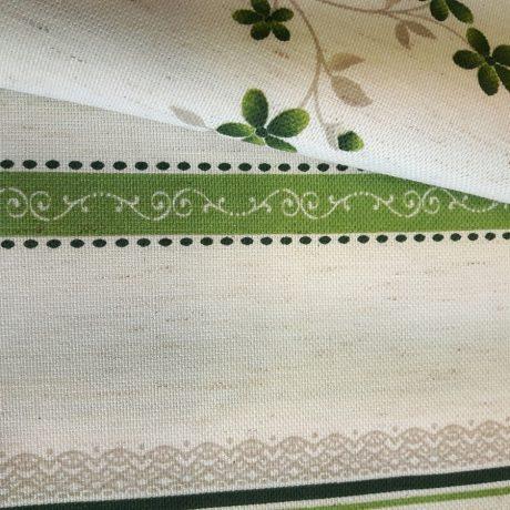 3892 Dekor Blume/streif grün