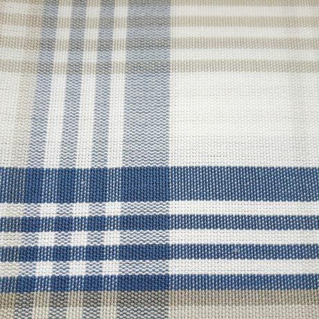 3894 Dekor Glencheck Karo blau