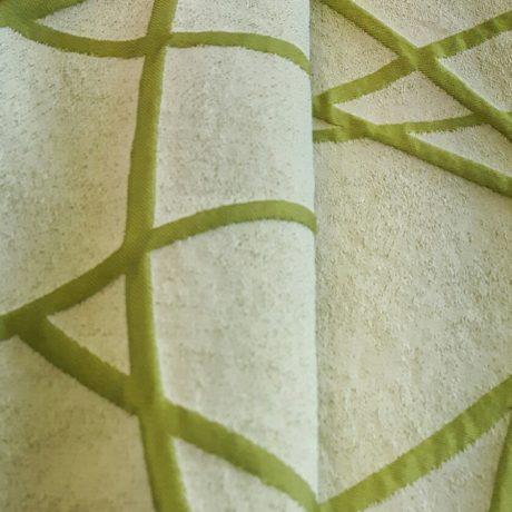 3897 Dekor gemustert grün
