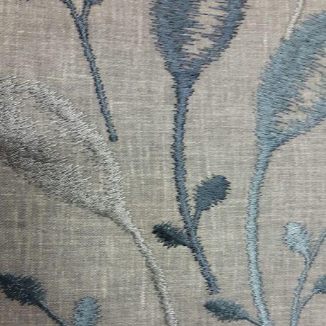 3899 Dekor Schilf meeresblau