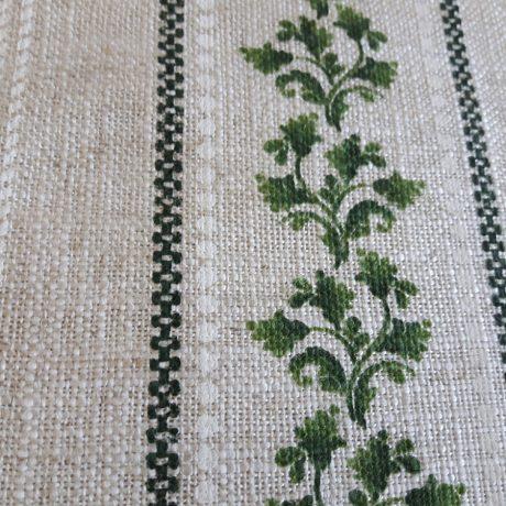 3923 Dekor Blätterranke grün