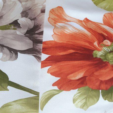 2786 Dekor Blume orange