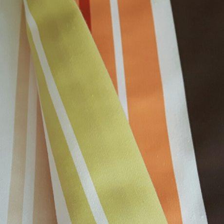 2787 Dekor streif orange