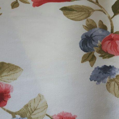 2788 Dekor Blume klein rot-blau
