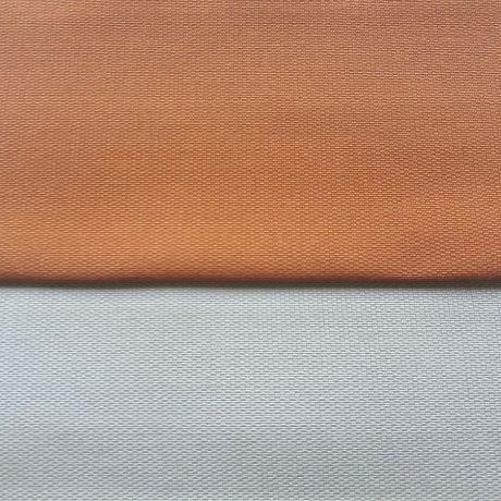 3896 Dekor uni cognac & silber