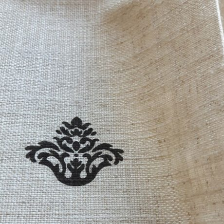 3934 Dekor Ornament braun