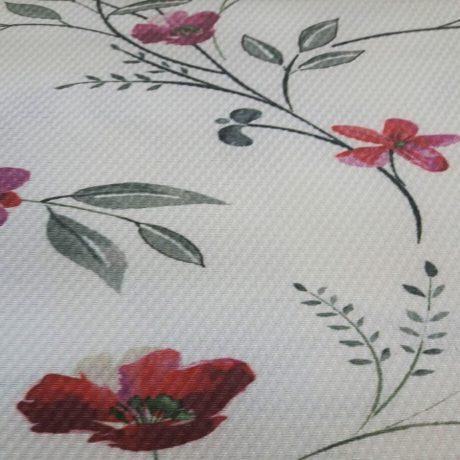 4024 Dekor Blume rosa